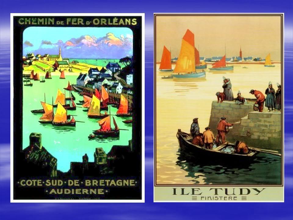 Affiches Ferroviaires de Bretagne et de l'Ouest Diapositive5-6