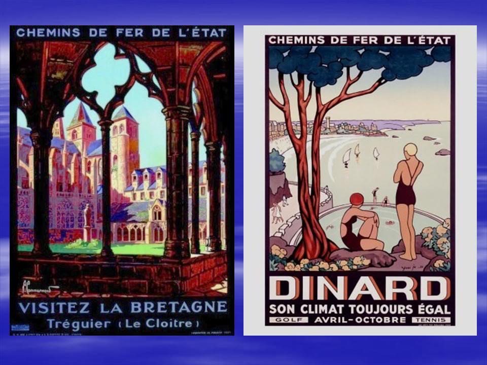 Affiches Ferroviaires de Bretagne et de l'Ouest Diapositive6-6