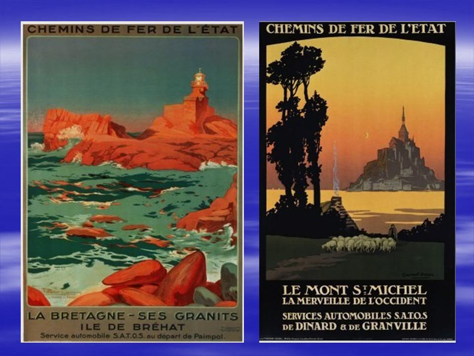 Affiches Ferroviaires de Bretagne et de l'Ouest Diapositive7-5