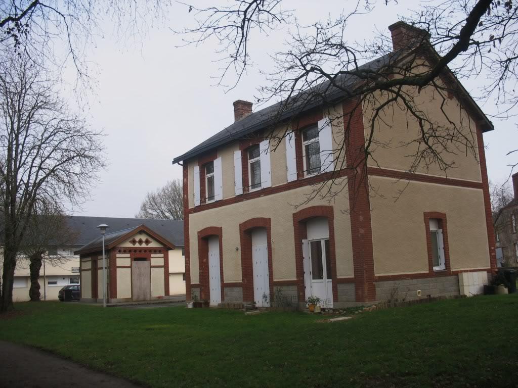 La gare de Bain de Bretagne Ligne de Châteaubriant-Messac-Ploermel IMG_7186
