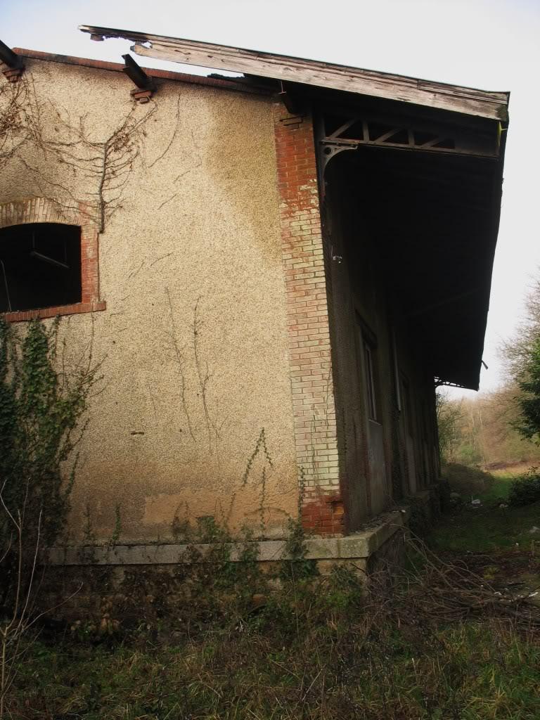 La gare de Bain de Bretagne Ligne de Châteaubriant-Messac-Ploermel IMG_7192