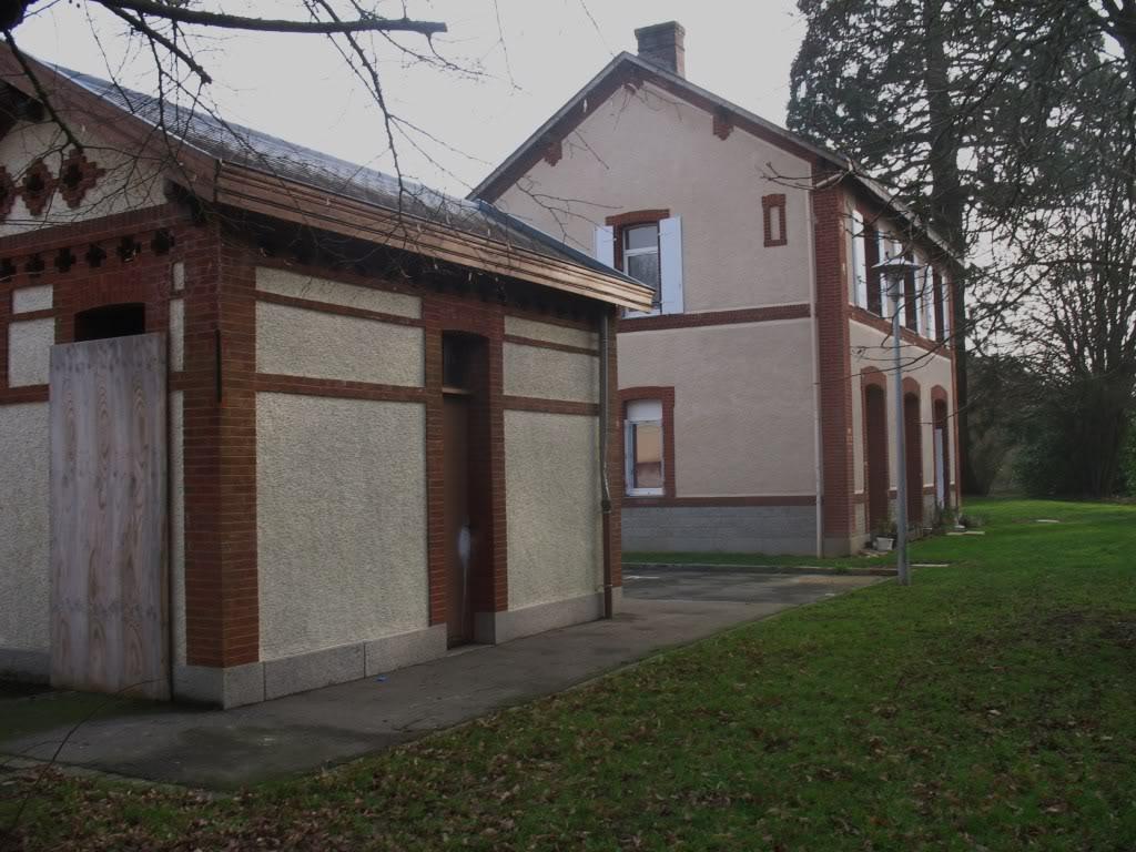 La gare de Bain de Bretagne Ligne de Châteaubriant-Messac-Ploermel IMG_7194