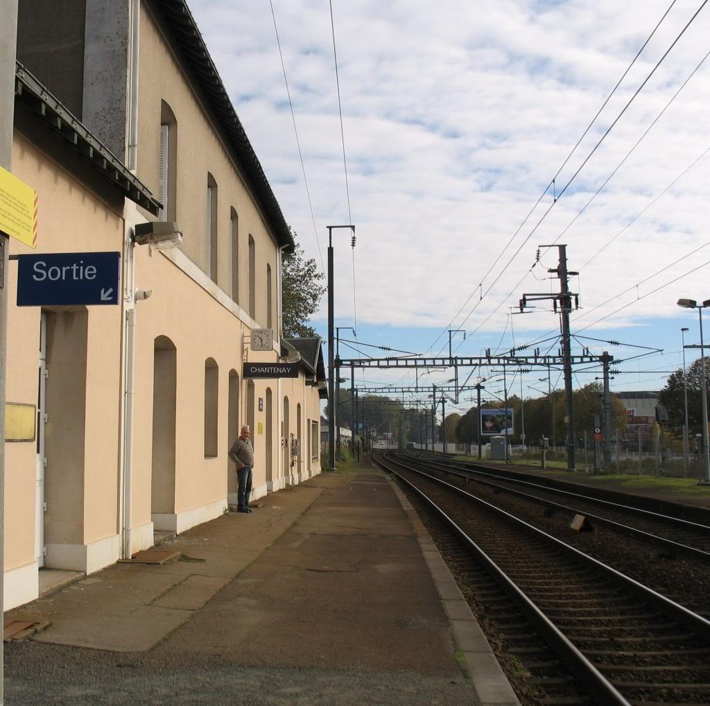 Les gares de Nantes à Savenay - Ligne Nantes-Le Croisic-Redon-Quimper 10-ChantenayversNantes