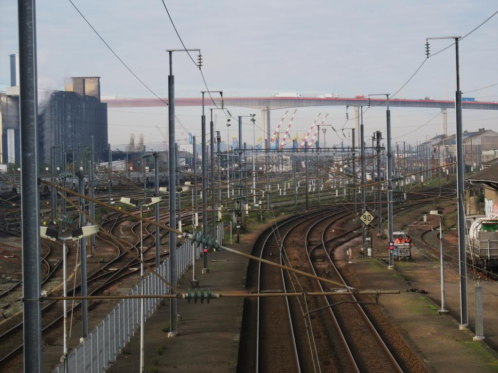 Les gares de Nantes à Savenay - Ligne Nantes-Le Croisic-Redon-Quimper 12-ChantenayversIndre-StHerblainChevireacute