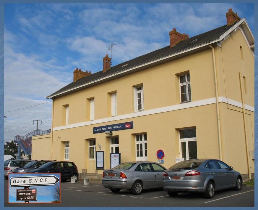 Les gares de Nantes à Savenay - Ligne Nantes-Le Croisic-Redon-Quimper 13-LaBasse-IndreStHerblain