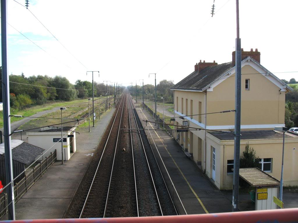 Les gares de Nantes à Savenay - Ligne Nantes-Le Croisic-Redon-Quimper 19-Basse-IndreStHerblainversCoueacuteron
