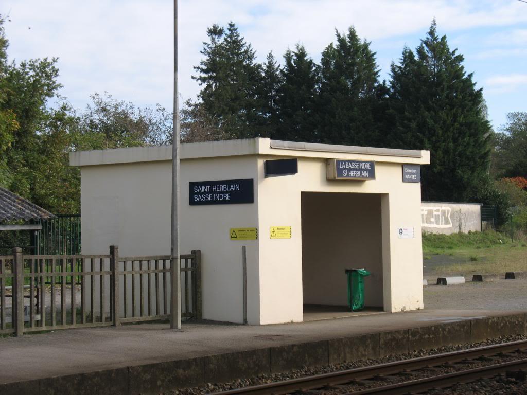 Les gares de Nantes à Savenay - Ligne Nantes-Le Croisic-Redon-Quimper 20-Basse-IndreStHerblainAbridequaiversNantes