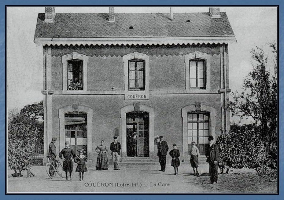 Les gares de Nantes à Savenay - Ligne Nantes-Le Croisic-Redon-Quimper 21-Coueacuteron