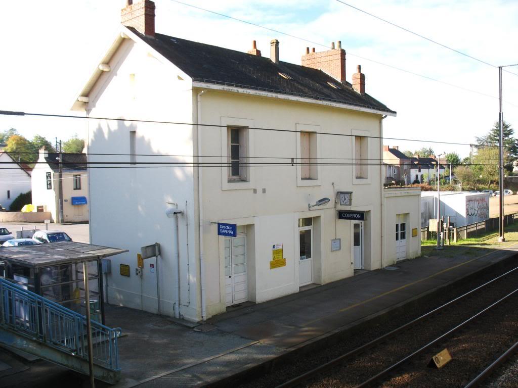 Les gares de Nantes à Savenay - Ligne Nantes-Le Croisic-Redon-Quimper 24-CoueacuteronBVcocircteacutequais