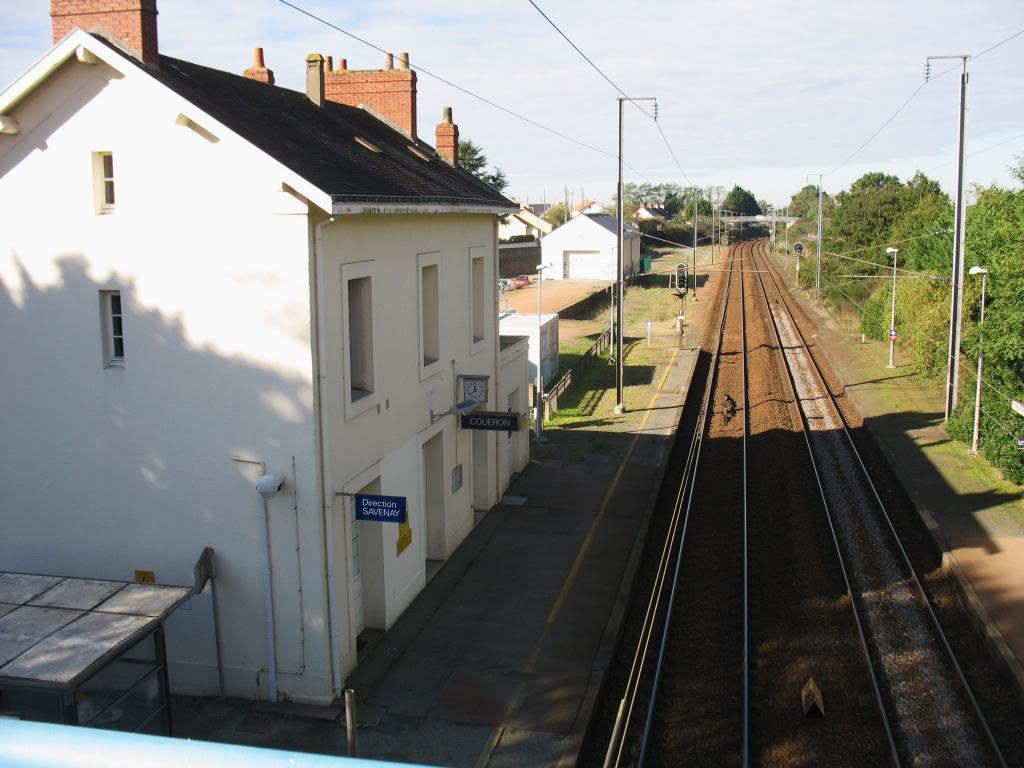 Les gares de Nantes à Savenay - Ligne Nantes-Le Croisic-Redon-Quimper 25-CoueacuteronversSavenay