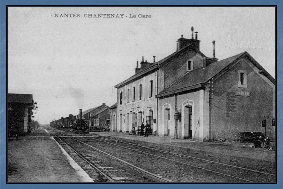 Les gares de Nantes à Savenay - Ligne Nantes-Le Croisic-Redon-Quimper 3-Chantenayavant
