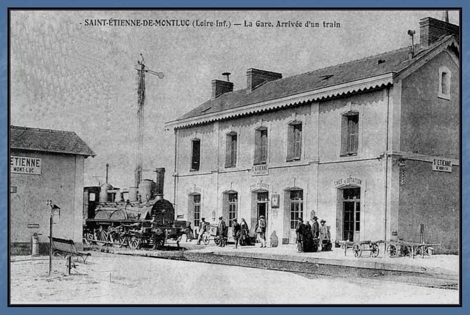 Les gares de Nantes à Savenay - Ligne Nantes-Le Croisic-Redon-Quimper 31-StEtiennedeMontlucavant