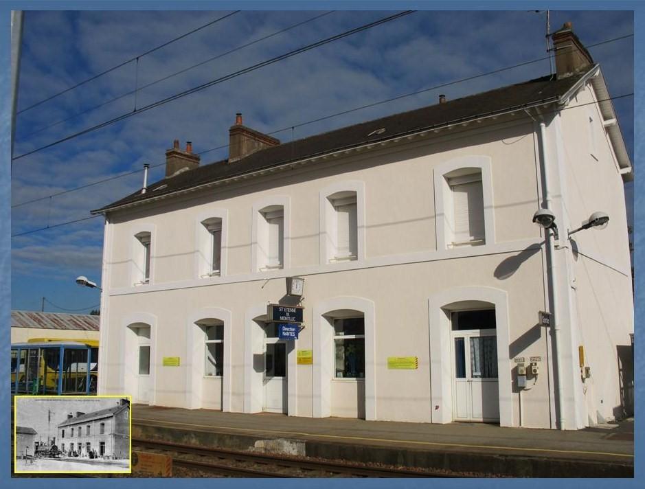 Les gares de Nantes à Savenay - Ligne Nantes-Le Croisic-Redon-Quimper 32-StEtiennedeMontlucavant-apregraves
