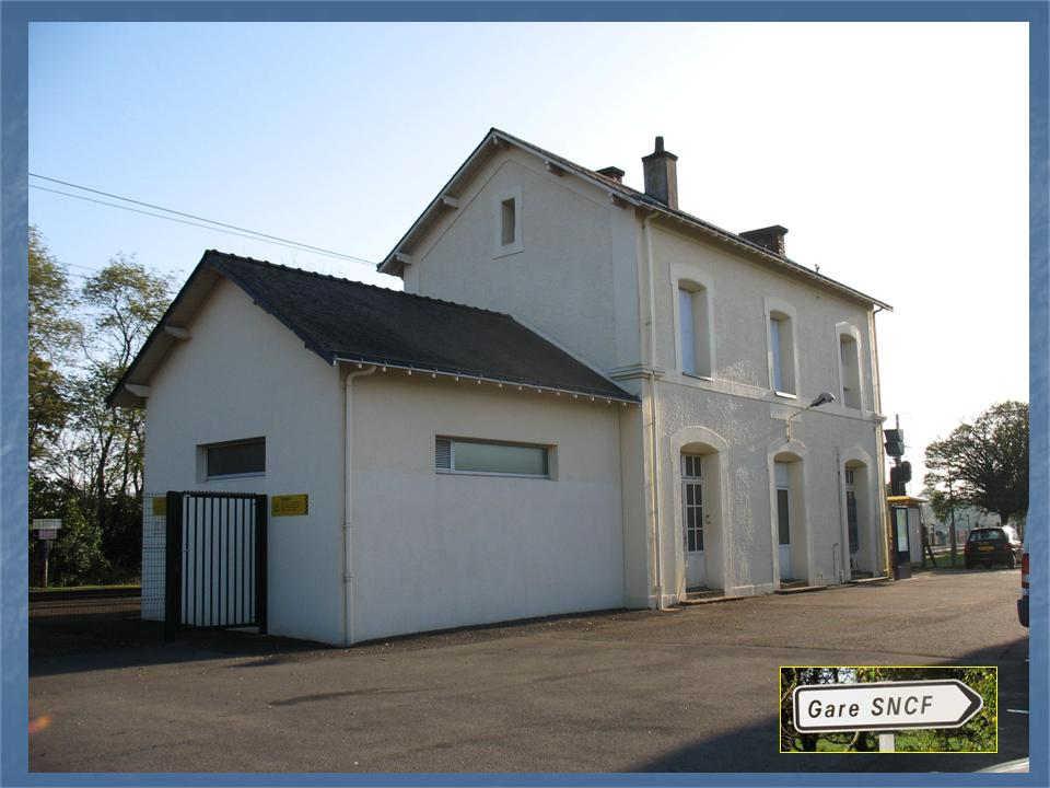 Les gares de Nantes à Savenay - Ligne Nantes-Le Croisic-Redon-Quimper 39-Cordemaiscocircteacuteparking