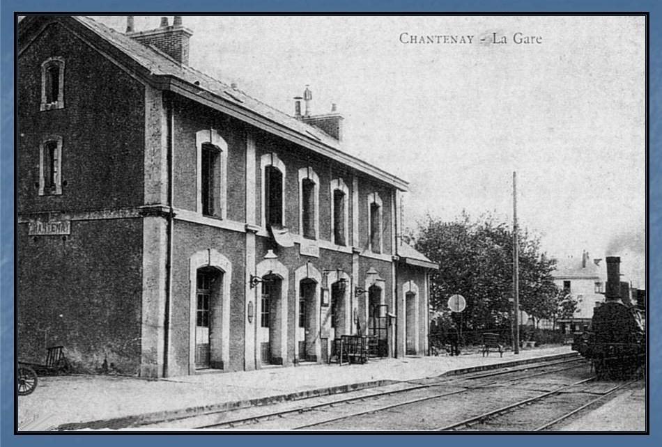 Les gares de Nantes à Savenay - Ligne Nantes-Le Croisic-Redon-Quimper 4-Chantenayavant