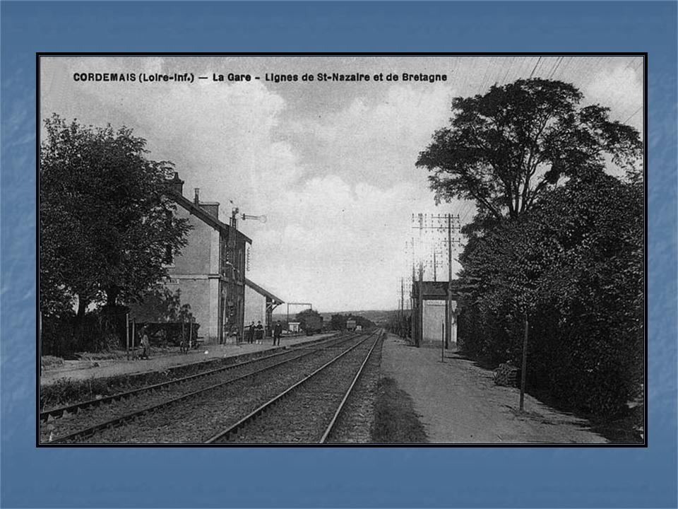 Les gares de Nantes à Savenay - Ligne Nantes-Le Croisic-Redon-Quimper 42-Cordemaisavant