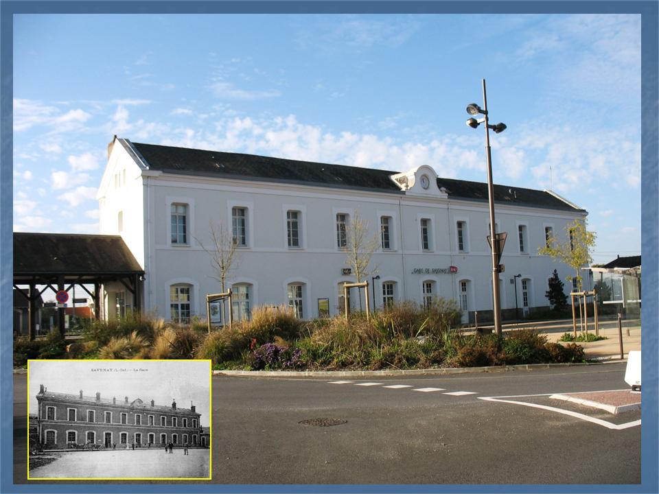 Les gares de Nantes à Savenay - Ligne Nantes-Le Croisic-Redon-Quimper 48-Savenayavantapregraves