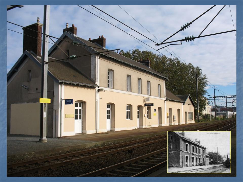 Les gares de Nantes à Savenay - Ligne Nantes-Le Croisic-Redon-Quimper 5-Avant-apregravesChantenay