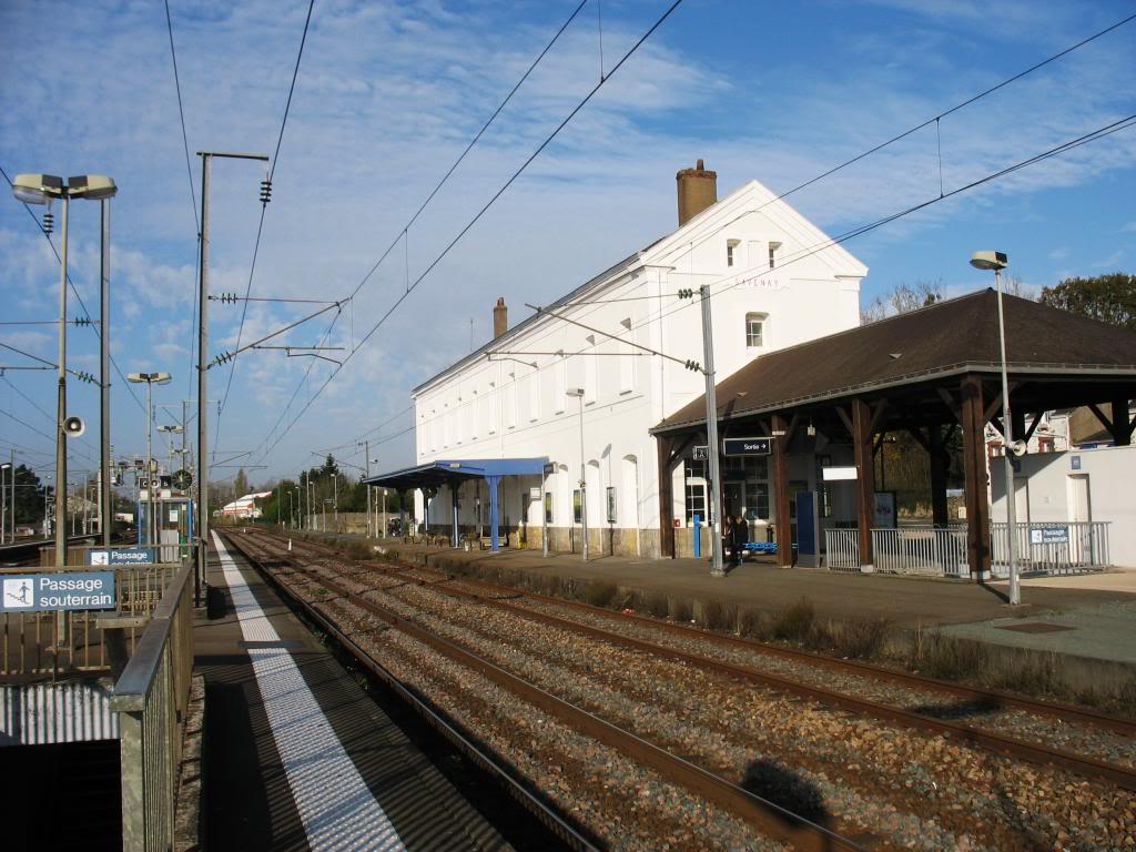 Les gares de Nantes à Savenay - Ligne Nantes-Le Croisic-Redon-Quimper 51-SavenayversLeCroisicetRedon