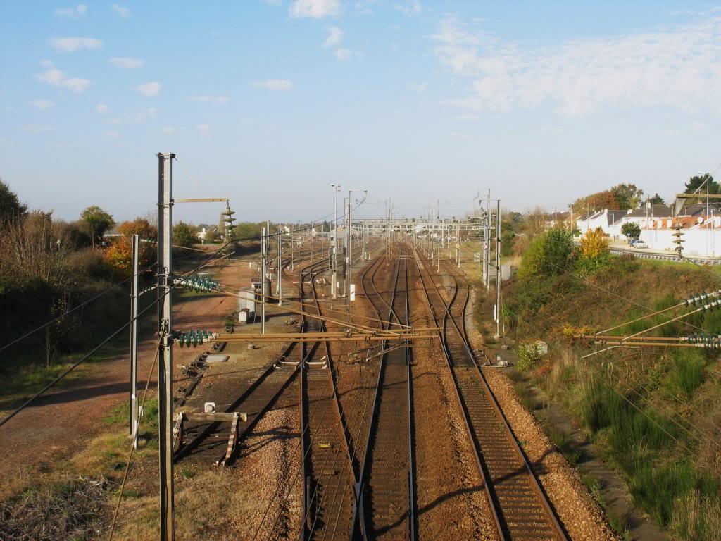Les gares de Nantes à Savenay - Ligne Nantes-Le Croisic-Redon-Quimper 53-SavenayversgareetLeCroisic-Redon2