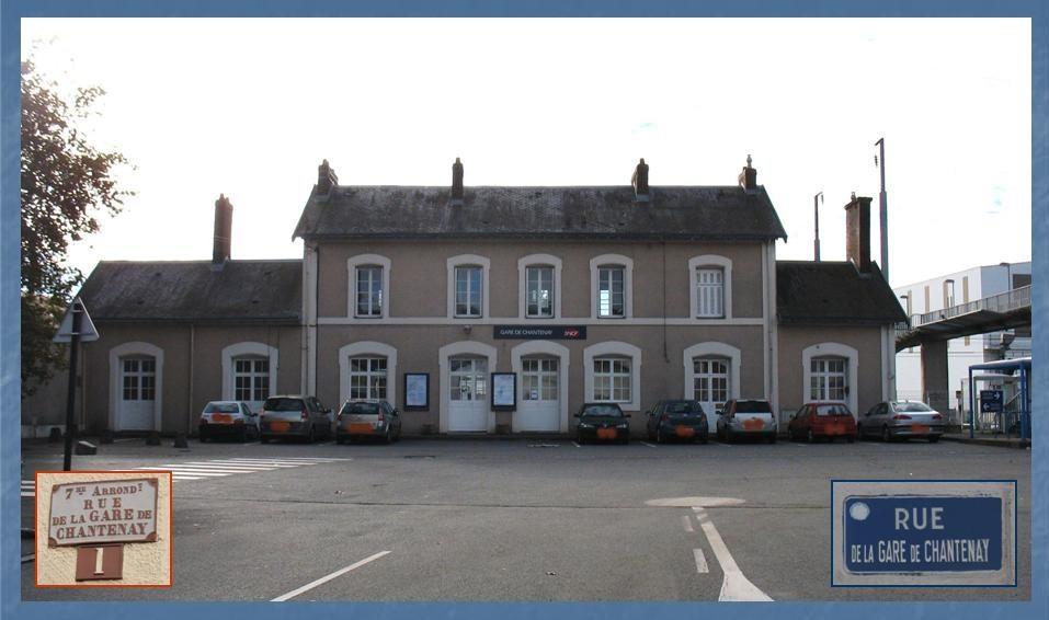 Les gares de Nantes à Savenay - Ligne Nantes-Le Croisic-Redon-Quimper 6-Chantenaycocircteacuteparking
