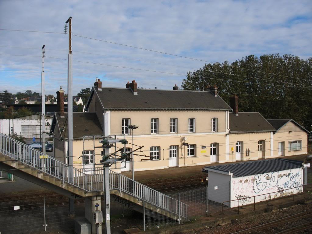 Les gares de Nantes à Savenay - Ligne Nantes-Le Croisic-Redon-Quimper 8-ChantenayBVcocircteacutequais