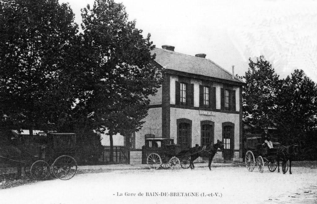 La gare de Bain de Bretagne Ligne de Châteaubriant-Messac-Ploermel Baindebgne074-Copie