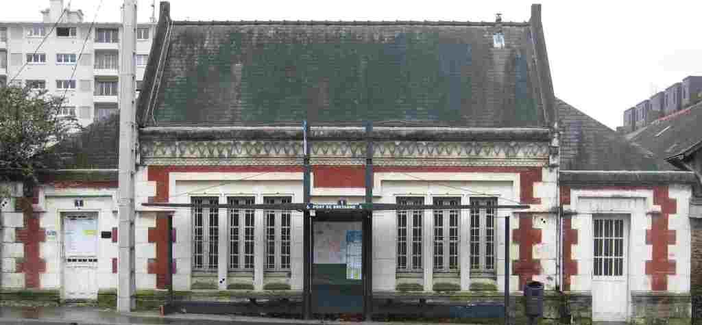 Le petit Tacot de Rennes à Plélan le Grand (1898-1948) Gare-mail1