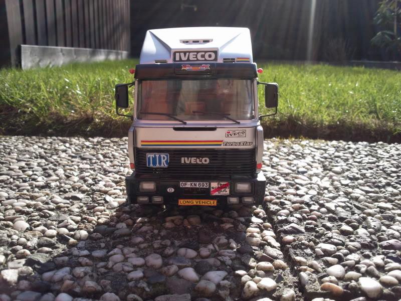 Iveco Turbostar  Italeri 1/24 003-8