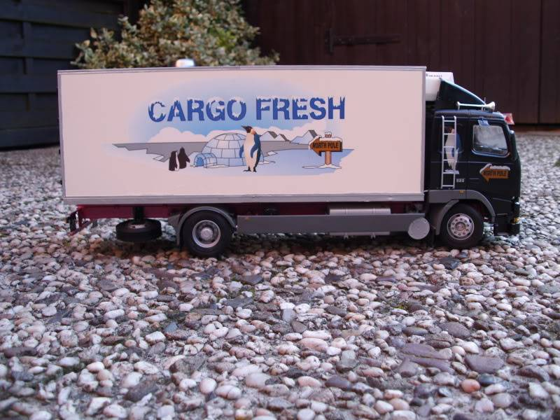 Volvo FH16 Cargo Fresh Italeri1/24 DSCI0210