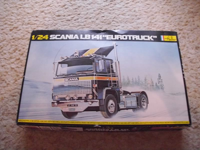 """Scania 141 LB """"Eurotruck"""" Heller 1/24 DSCI0349"""