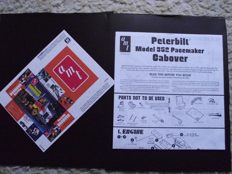 Peterbilt Cabover AMT 1:25 DSCI1204