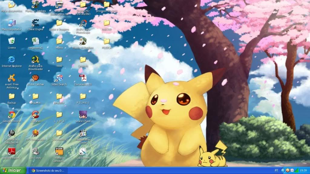 Screenshots do seu Desktop Desktop