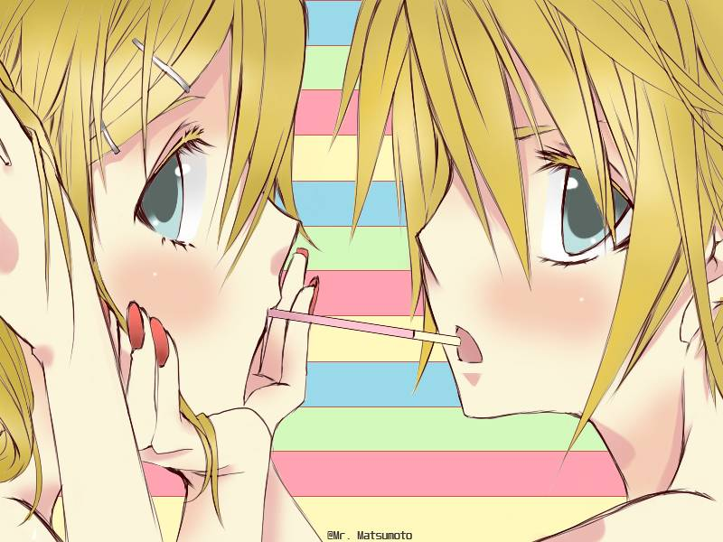 Touch me's KAGAMINE