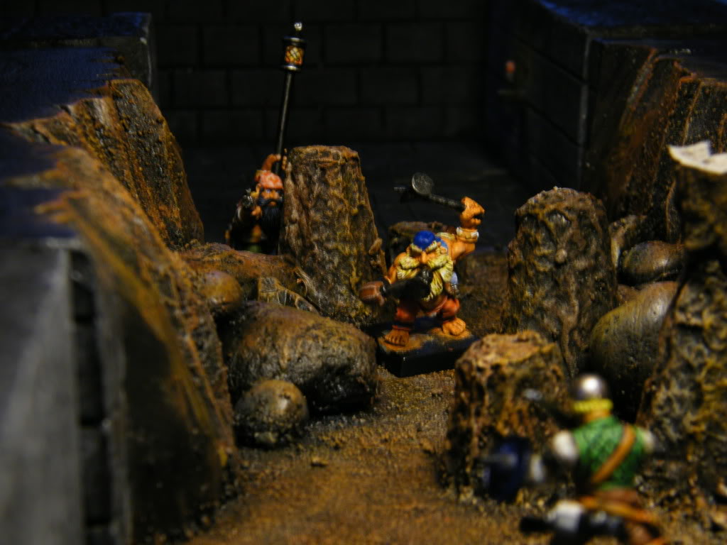 Dwarves vs merc & scenery 2-22-11108