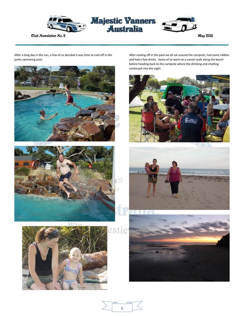 Majestic Vanners Newsletter Issue No.5 May 2015 06_zpsueapxjdr