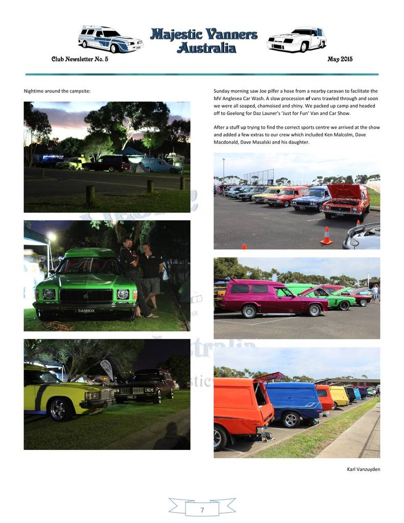 Majestic Vanners Newsletter Issue No.5 May 2015 07_zpsytqi4rki