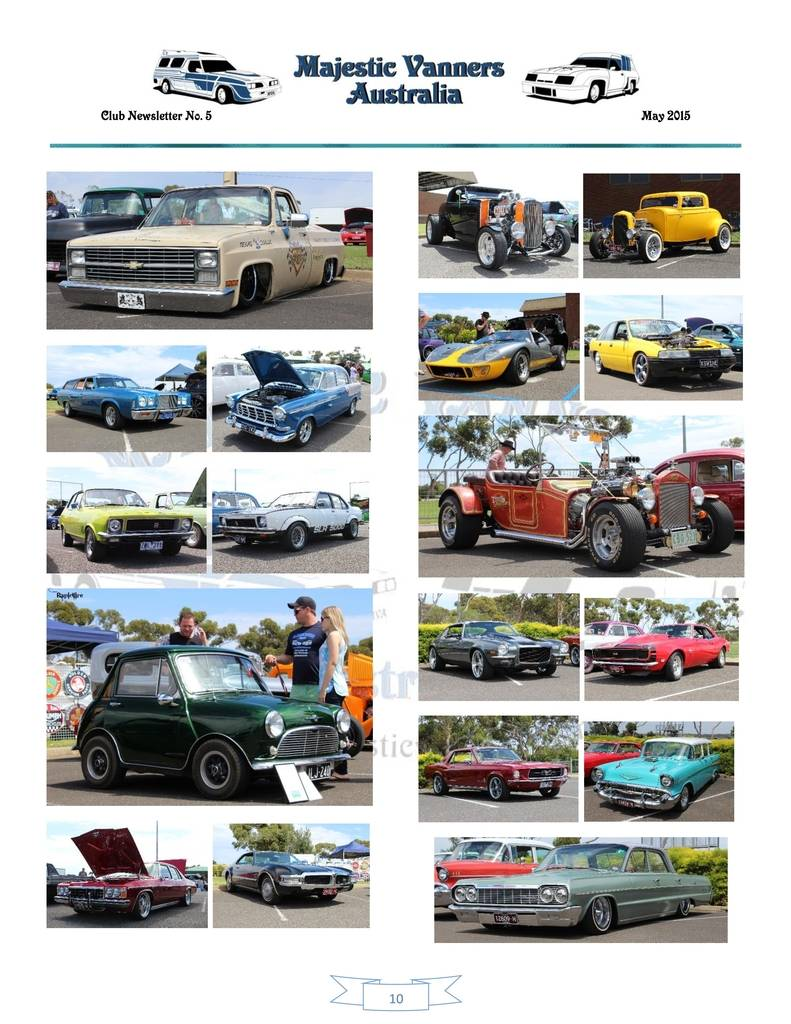 Majestic Vanners Newsletter Issue No.5 May 2015 10_zpswo38wo3f