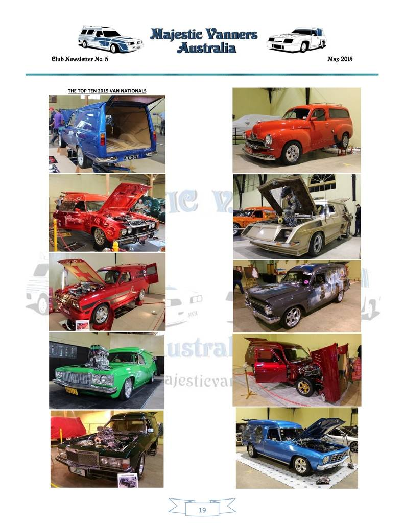Majestic Vanners Newsletter Issue No.5 May 2015 19_zpsmppimvhx