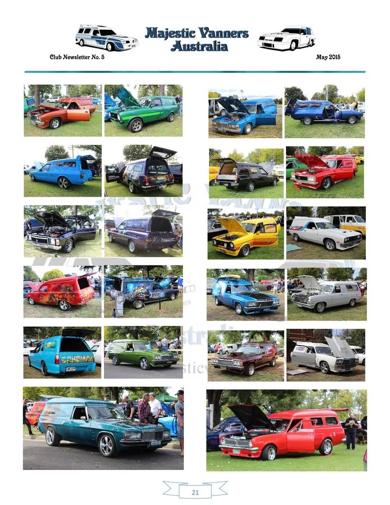 Majestic Vanners Newsletter Issue No.5 May 2015 21_zpsiuf16ft1