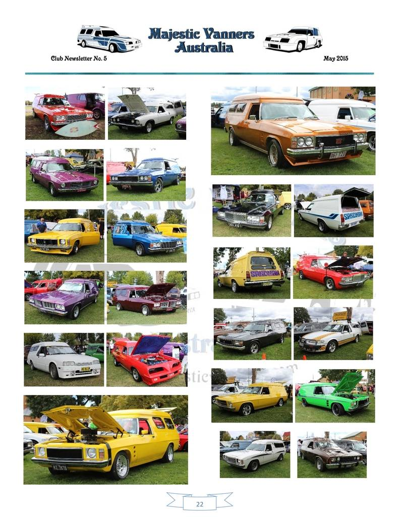 Majestic Vanners Newsletter Issue No.5 May 2015 22_zpse5hmkw3l