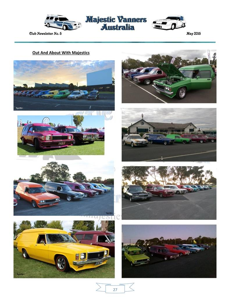 Majestic Vanners Newsletter Issue No.5 May 2015 27_zpsco5gzent