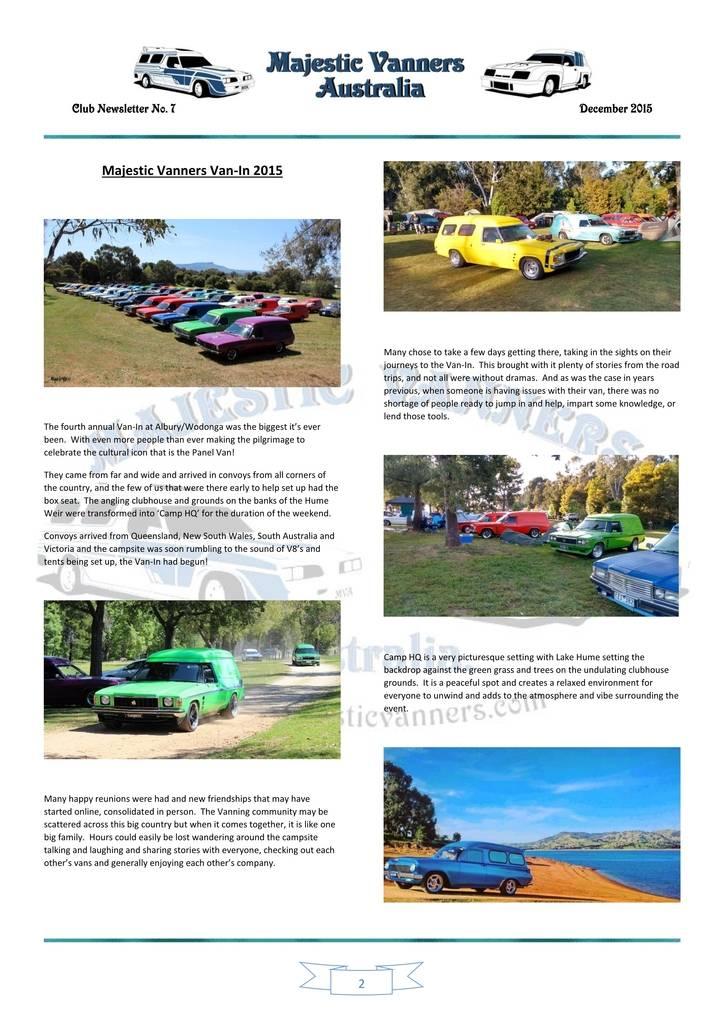 Majestic Vanners Newsletter Issue No.7 December 2015 02_zpseczhauxn