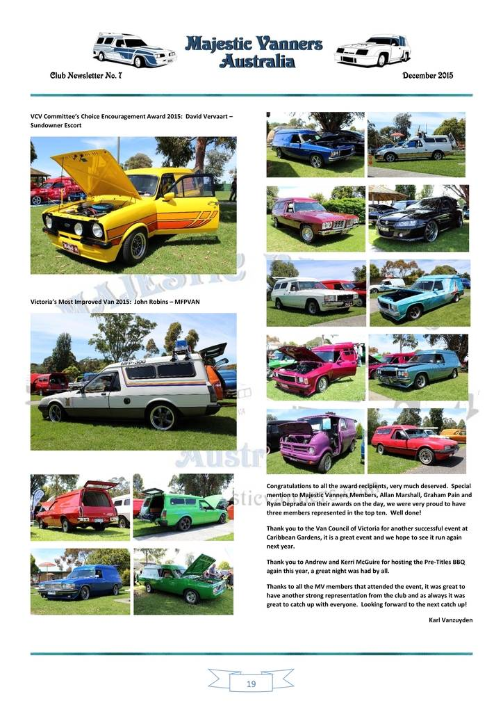 Majestic Vanners Newsletter Issue No.7 December 2015 19_zpsysqgsxfj