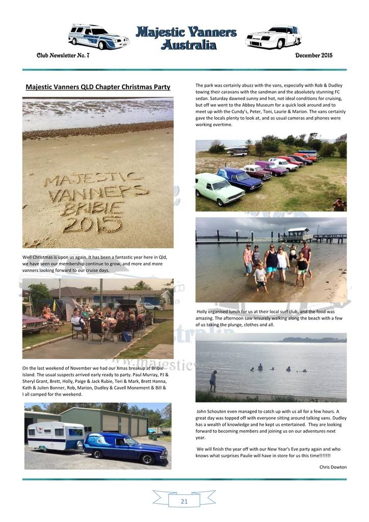 Majestic Vanners Newsletter Issue No.7 December 2015 21_zpsdlfl1mfw