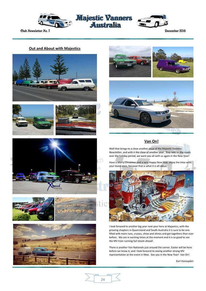 Majestic Vanners Newsletter Issue No.7 December 2015 24_zpsjyij7dkd