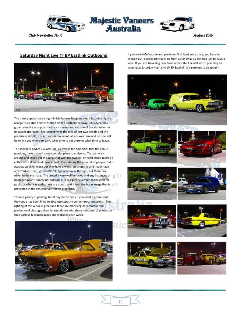 Majestic Vanners Newsletter Issue No.6 August 2015 11_zpspxra5rw2