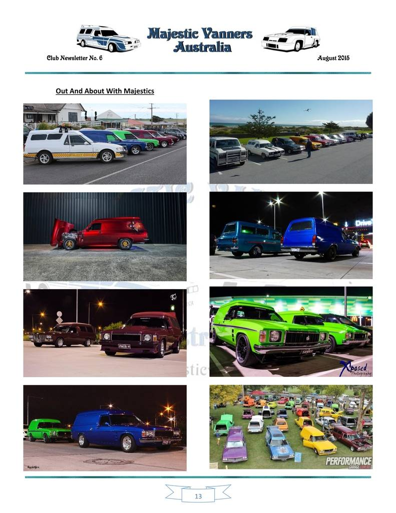 Majestic Vanners Newsletter Issue No.6 August 2015 13_zpsnvde9gov