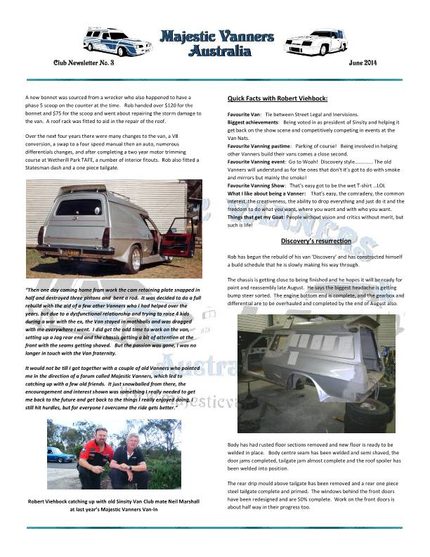 Majestic Vanners Newsletter No.3 June 2014 MVNewsletterNo3-p04_zps2b3bdb99