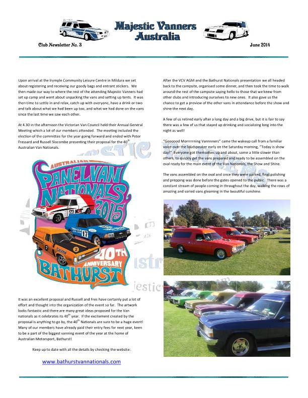 Majestic Vanners Newsletter No.3 June 2014 MVNewsletterNo3-p08_zps005c3ce9